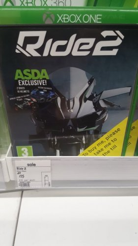 ride 2 xbox one 15 asda blantyre with extra bikes and. Black Bedroom Furniture Sets. Home Design Ideas