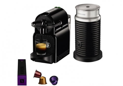 Nespresso Inissia Coffee Machine with Aeroccino by Magimix  -> Nespresso John Lewis