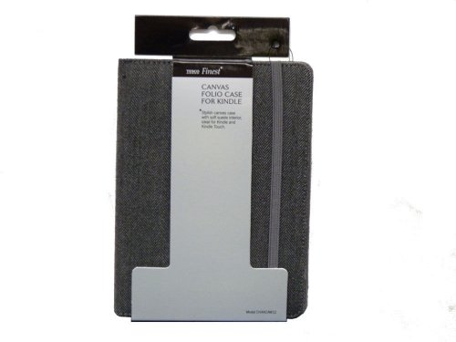 3 FOR 2 New Tesco Finest 6 Canvas Folio Case With Non Slip Pad On Int