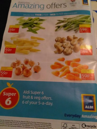 aldi super 6 available from thursday 2 february. Black Bedroom Furniture Sets. Home Design Ideas