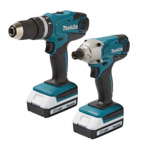 makita twin drill set down to 90 80 with voucher b q. Black Bedroom Furniture Sets. Home Design Ideas