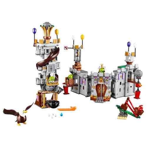 Birds Toys R Us : Lego angry birds king pigs castle £ toys r us