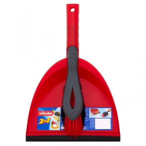 Vileda Red Dustpan And Brush Set Was 163 5 Now 163 2 Instore