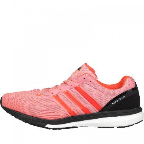Adidas Womens Adizero Boston Boost  Lightweight Neutral Running Shoes