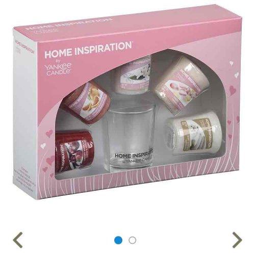 Yankee Candles Home Inspiration Gift Set At Tesco Direct For U00a36 - HotUKDeals