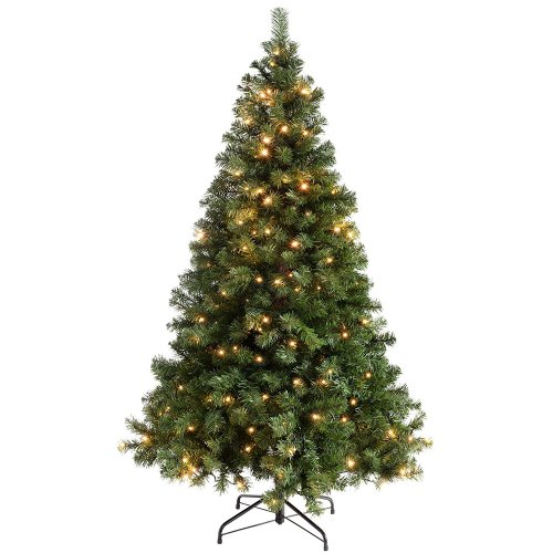 Artificial Christmas Trees Amazon Uk: Cheap Pre Lit Christmas Tree £35.67 @ Amazon.co.uk