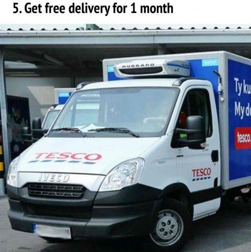 Uk hot deals tesco delivery
