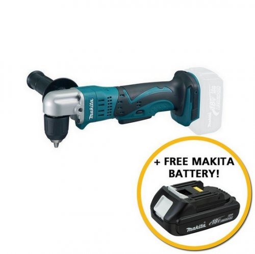 makita 18v angle drill body only 2ah battery ends 9 4 17 anglia tool centre. Black Bedroom Furniture Sets. Home Design Ideas