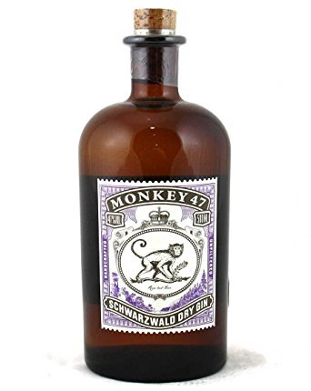 monkey 47 schwarzwald dry gin 50 cl amazon. Black Bedroom Furniture Sets. Home Design Ideas