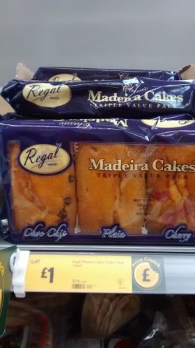 Decorate At Home Madeira Cake Morrisons : Regal Madeira Cakes - Triple Pack @ Morrisons - ?1 Instore ...