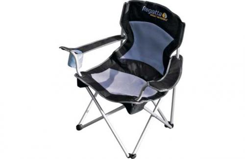 regatta deluxe folding mesh camping chair half price 14. Black Bedroom Furniture Sets. Home Design Ideas