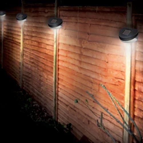 Solar Lights Home Bargains: Solar Fence Light £1 Poundland