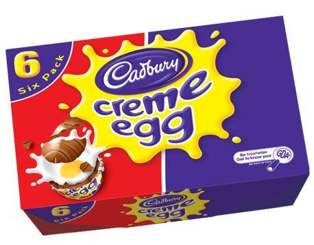 cadbury 39 s creme eggs 6 pack 80p asda instore hotukdeals. Black Bedroom Furniture Sets. Home Design Ideas