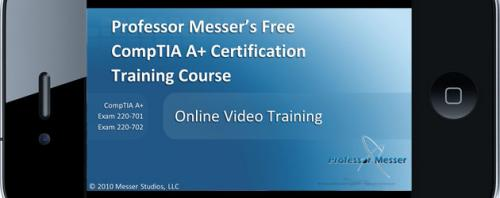 Free Comptia A+ And Network + Certification Training