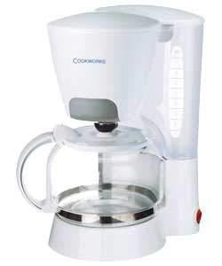 Argos Coffee Maker With Timer : Cookworks Filter Coffee Maker White 66% Off ?4.99 @ Argos Reserve & Collect - HotUKDeals