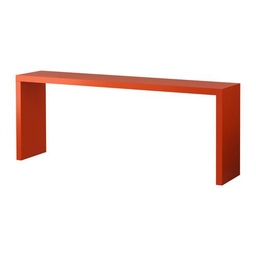 Ikea malm occasional table 120l 40w 60h red only for Ikea table 9 99