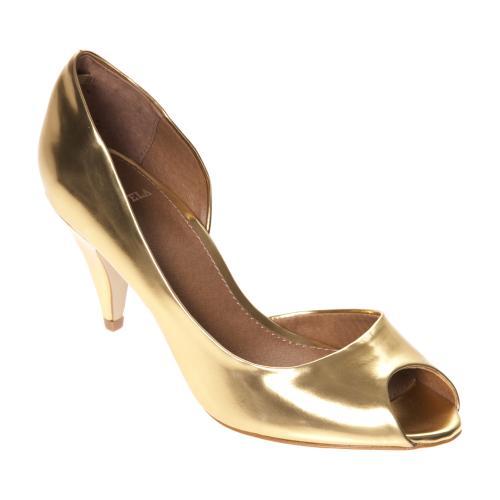 carvela gold peep toe court shoes tk maxx 163 20 hotukdeals