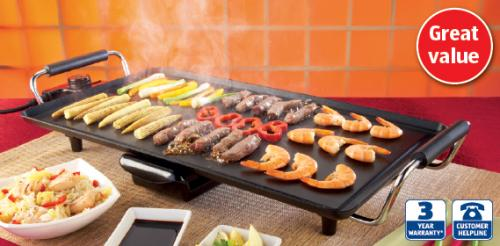teppanyaki grill instore aldi thursday 21st. Black Bedroom Furniture Sets. Home Design Ideas
