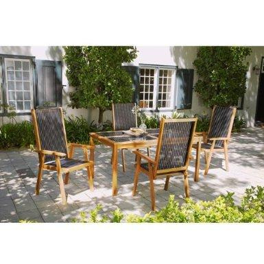 Aruba 5 piece garden furniture set amazon littlewoods for Garden furniture deals