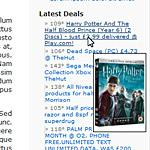 UK Deals Widget