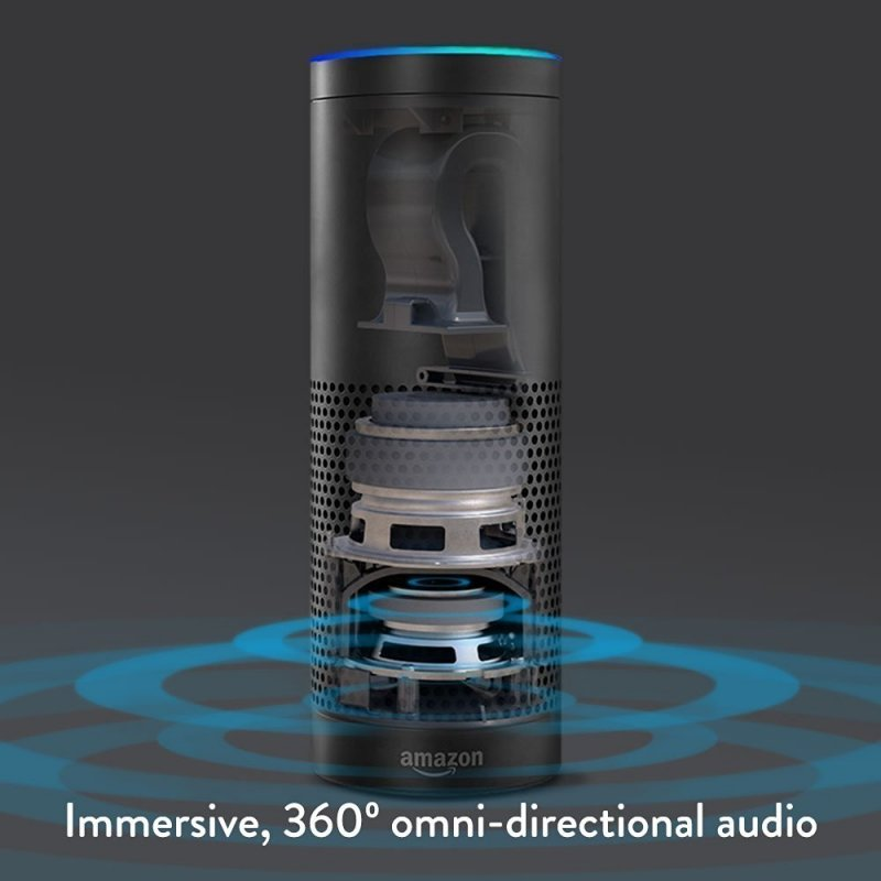 amazon echo omni directional audio