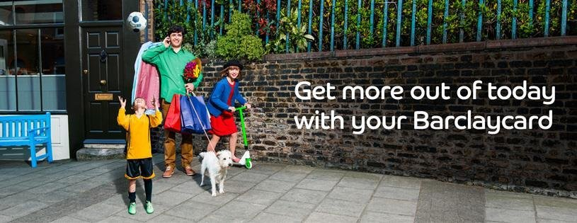 get more out of today with your barclaycard