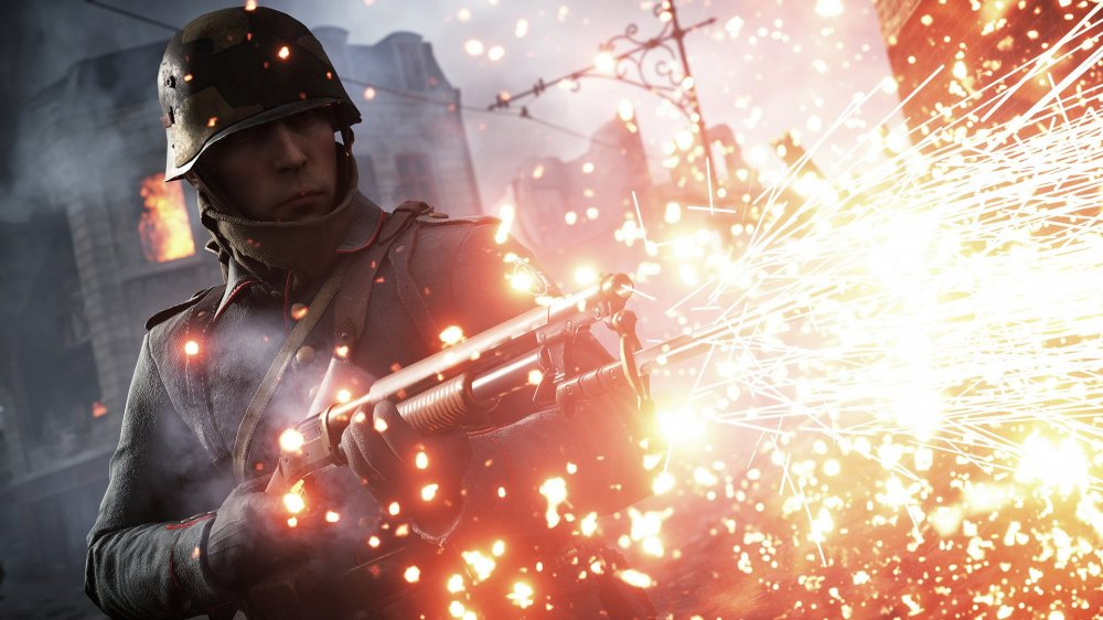 battlefield 1 soldier fight