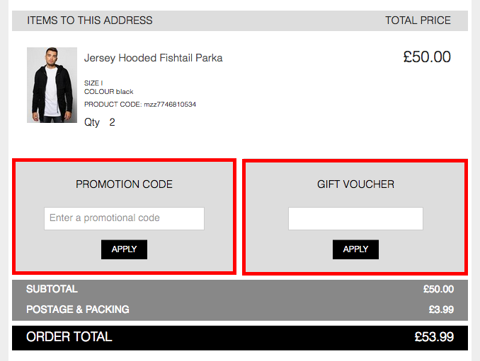 Boohoo coupon code