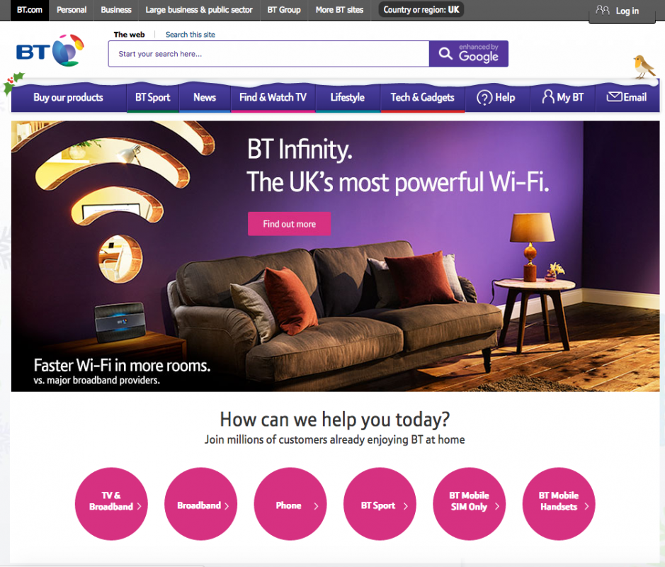 bt wifi website