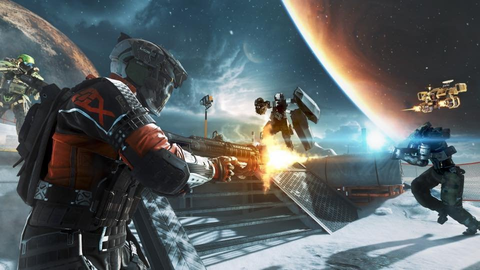 call of duty infinite warfare space action