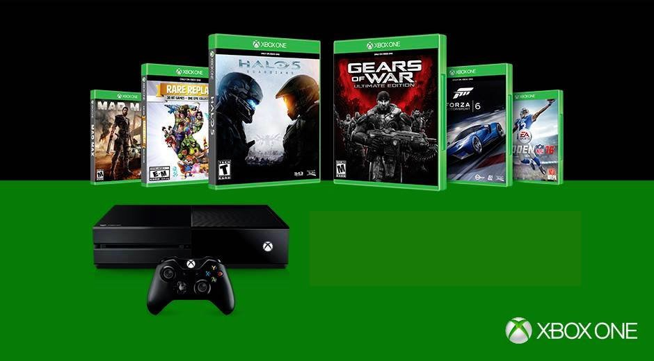 xbox one console games