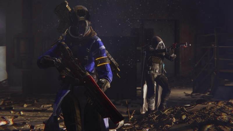 Hunters warlocks titans