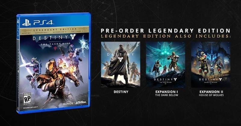 Destiny Pre-Order for Playstation 4