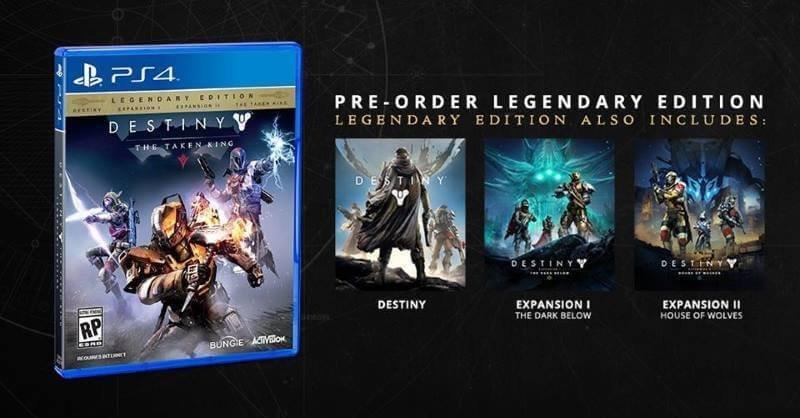 Destiny Pre-Order for Playstation 4