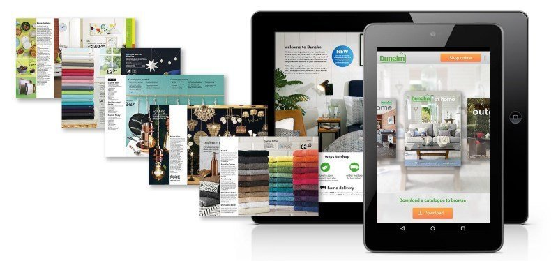 dunelm catalogue app