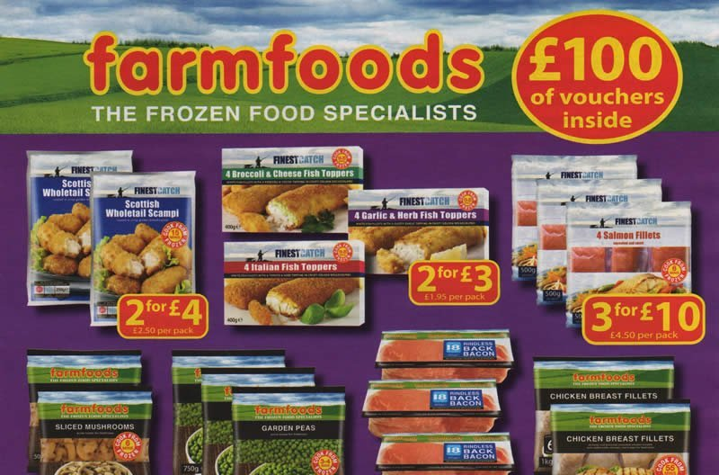 FarmFoods leaflet deals