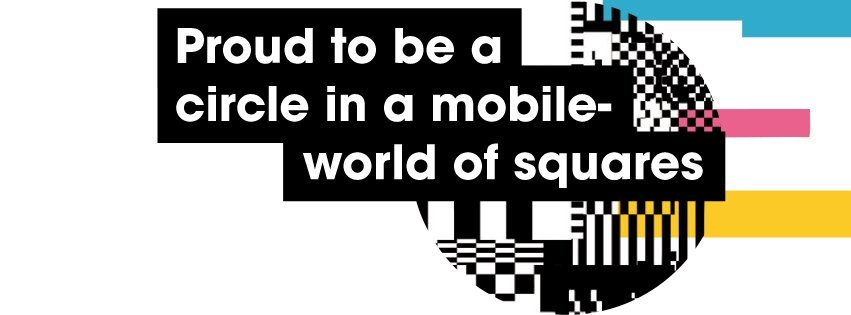 giffgaff proud to be a circle in a mobile world of squares