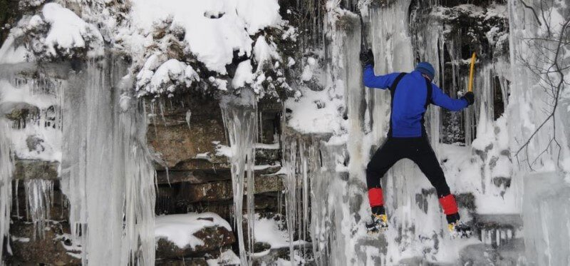 GO Outdoors activity climbing ice mountaineering