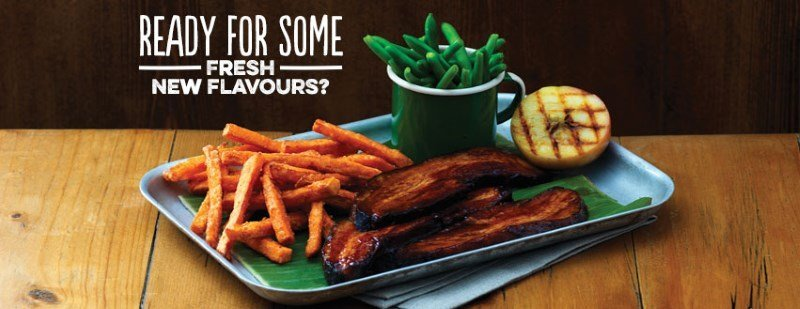 harvester fresh food flavour