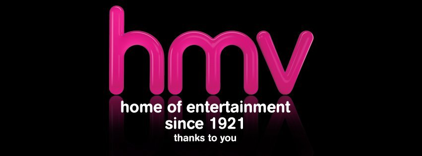 hmv home of entertainment since 1921