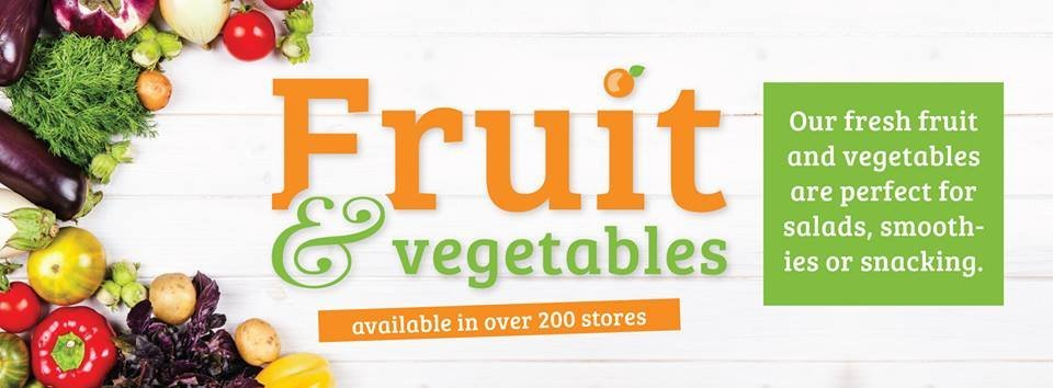 home bargains fruit and vegetables