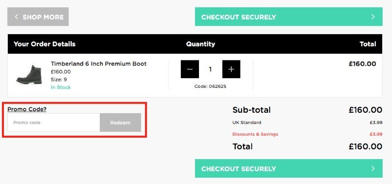 jd sports discount promo code redemption 1ebd42e69