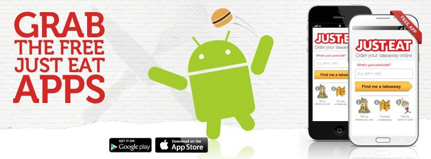 just eat grab the free just eat apps ios android