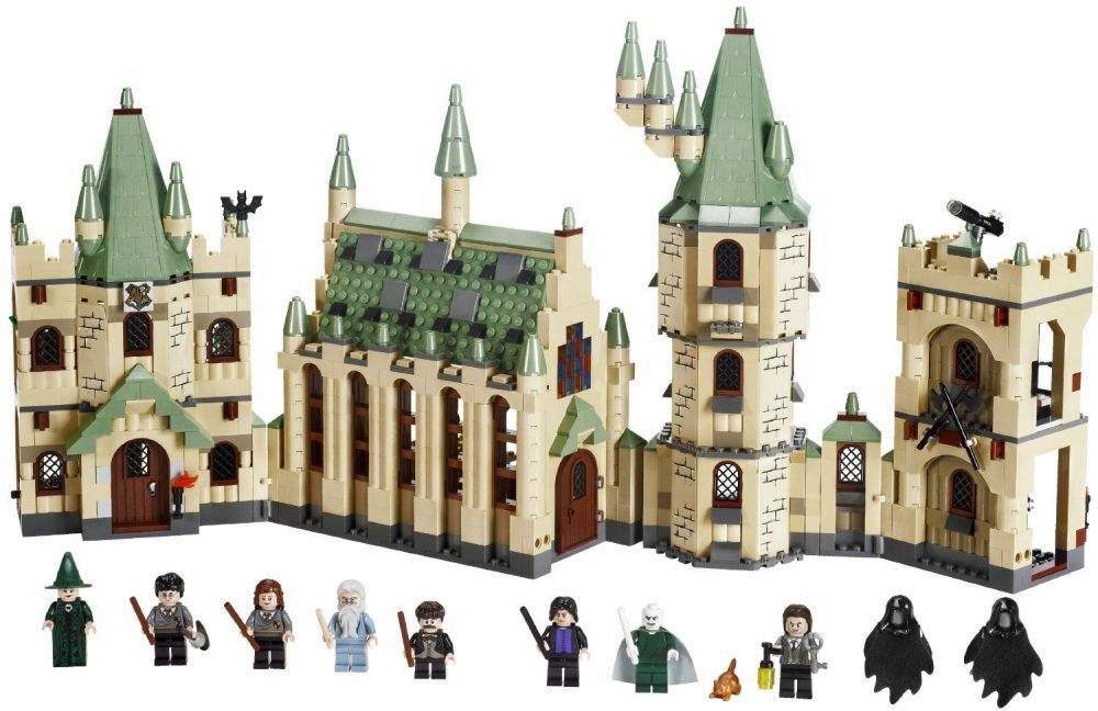 harry potter lego castle