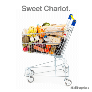 Lidl shopping cart