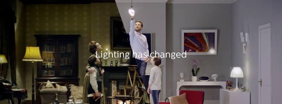 lighting has changed