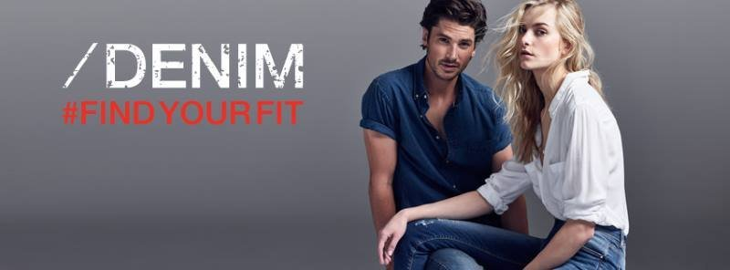 Denim clothes for men and woman