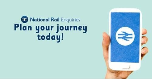 National Rail mobile app