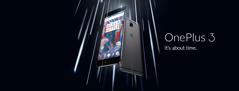 oneplus 3 it´s about time