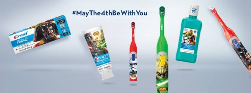 Star wars toothpaste